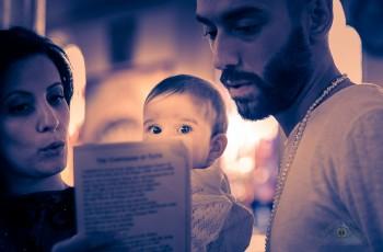 Baby Gabriella's Emotional Christening.Kimisis Theotokou, Brooklyn.