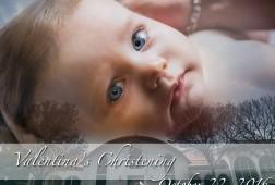 Baby Valentina's Baptism. Saint Athanasios Church, Paramus, NJ