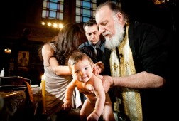 Baptism at St Spyridon Church, New York City and Westbury Manor Long Island
